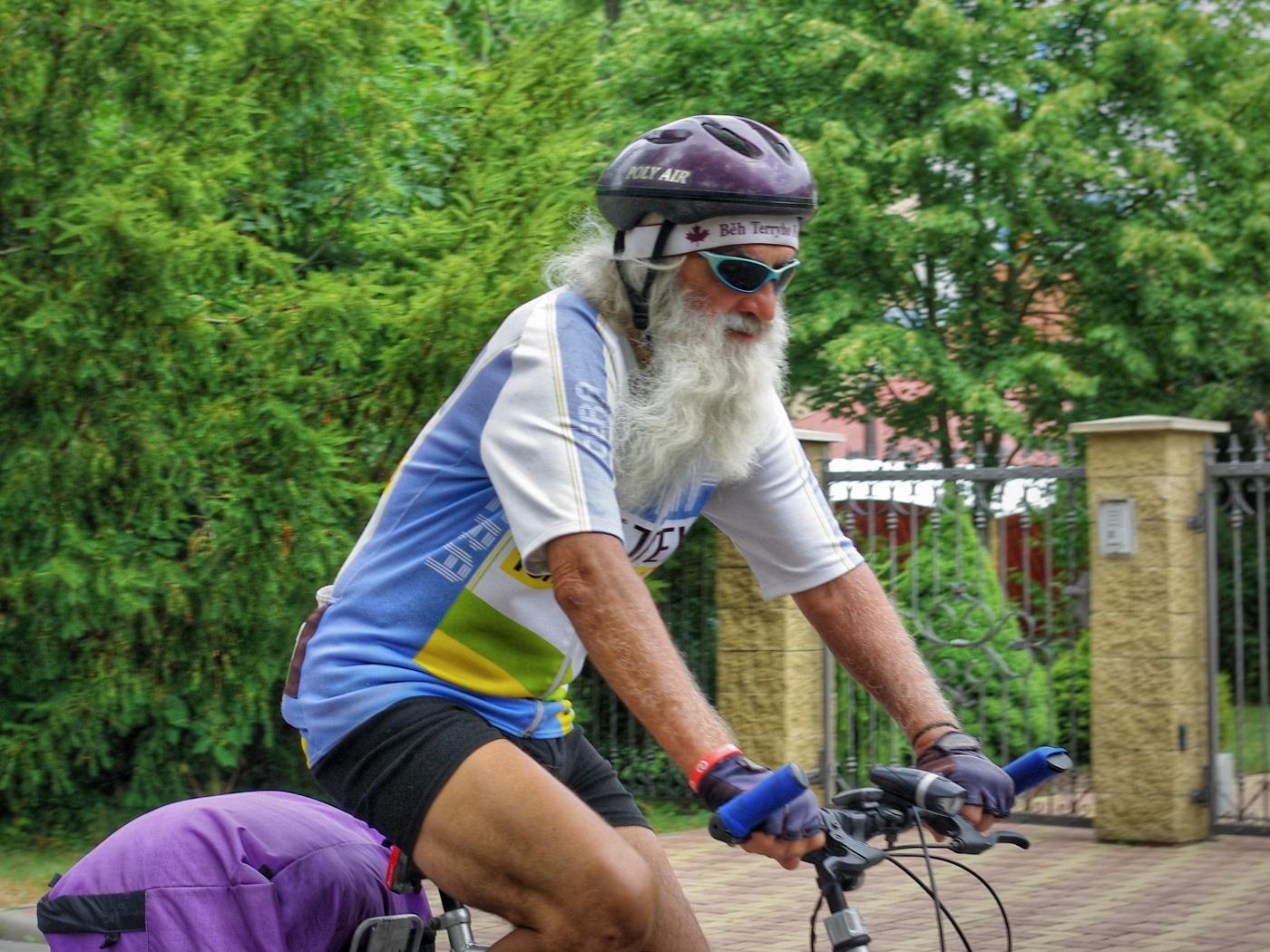 16. Cyklista v Luhačovicích