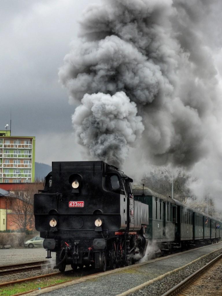 31. Parní lokomotiva Matěj