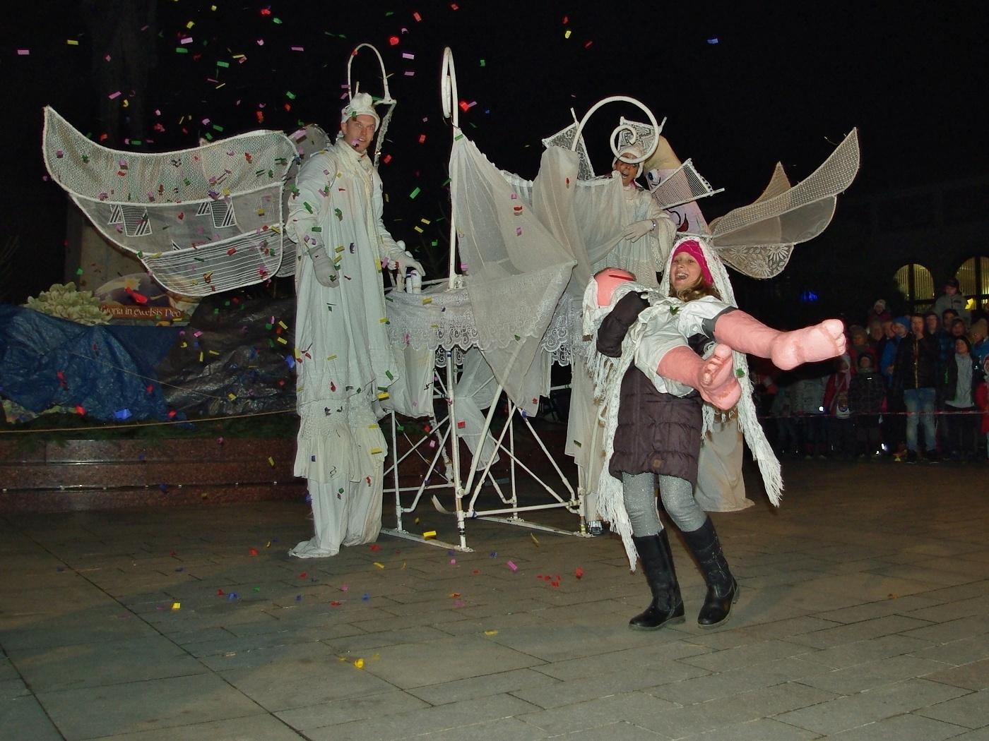 4. Slavnostní rozsvícení vánočního stromu
