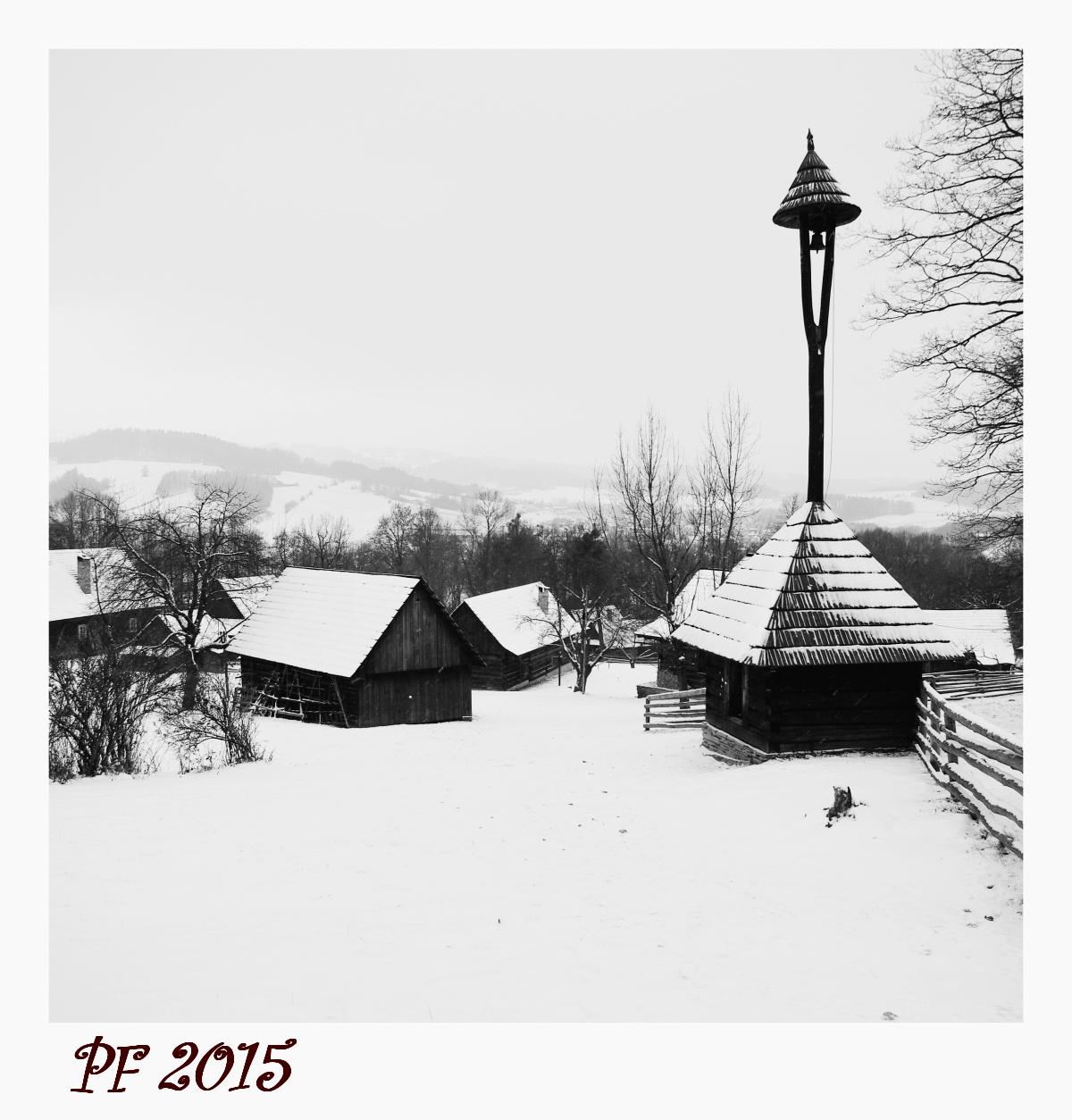 51.    Zima na Valašsku