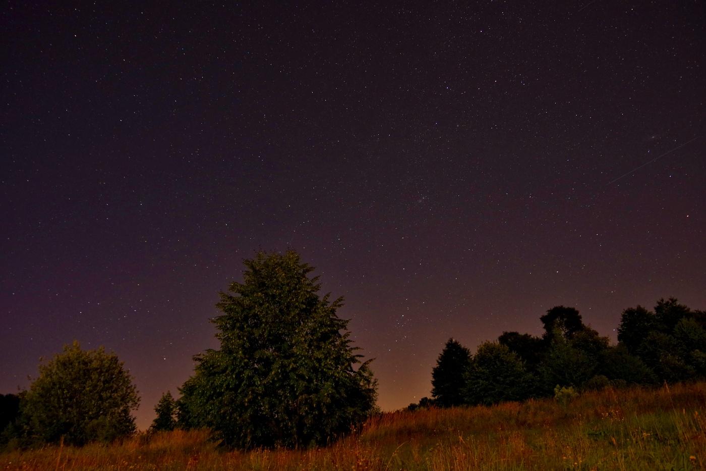 8. Noční obloha